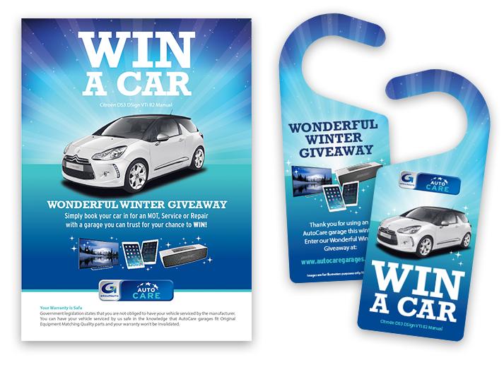 car giveaway promo